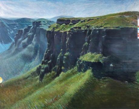 Lot861 贾蔼力 《蓝山》 210 × 270 cm 布面油画2010RMB ¥ 7,000,000 - 12,000,000