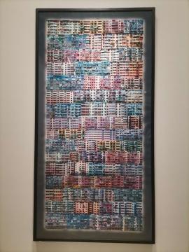 向利庆 《永不摇晃》 249.5×125cm 摄影 2002