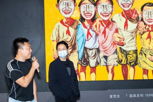 收藏家林瀚与山艺术-北京林正艺术空间负责人林正