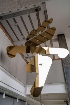 李维伊 《梦》 200×257 cm 钢 2020