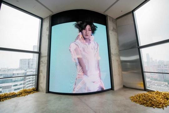 陆扬 《陆扬数字转生-技术展示》 2-4' 录像 2020