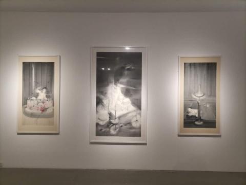 水墨画里的众生相,太和艺术空间带来李惠昌的黑色幽默