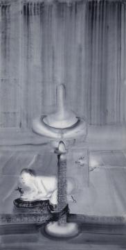《哼者66》70cm x140cm 宣纸水墨 2011