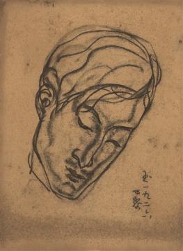 常玉《邵洵美》36.5×26.5cm 铅笔、碳笔纸本 1926年