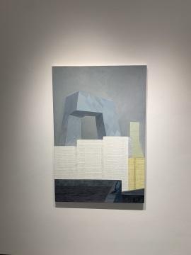 张弓 《金台夕照》 120 x 80 cm 布面丙烯 2012