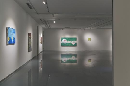 """张弓""""启示录"""",金杜艺术中心展览现场"""