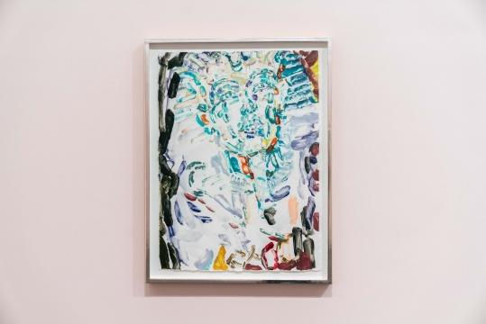 《永恒的回归(图坦卡蒙)》 双石手工纸独版版画 76.8x 56.5cm 2020