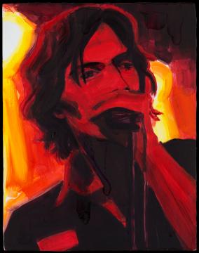 《朱利安》 板上油彩 35.6 x 27.9 cm2004