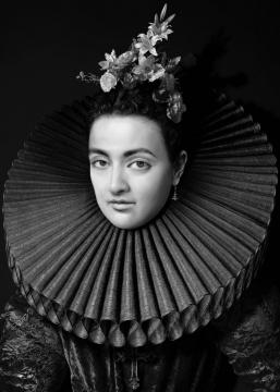 《人工剧团—不知名妇女肖像》(10) 70x100cm(10+2ap)100x140cm(5+1ap) CANSON INFINITY BARYTA 2017