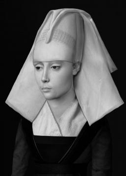 《⼈⼯剧场—不知名妇⼥肖像》(6) 70x100cm(10+2ap)100x140cm(5+1ap) CANSON INFINITY BARYTA 2017