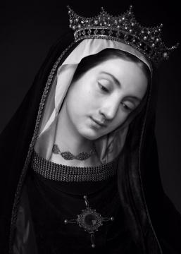 《人⼯剧团—不知名妇女肖像》(1) 70x100cm(10+2ap)100x140cm(5+1ap) CANSON INFINITY BARYTA 2017