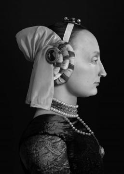 《人⼯剧团—不知名妇女肖像》(3) 70x100cm(10+2ap)100x140cm(5+1ap) CANSON INFINITY BARYTA 2017