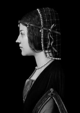 《人⼯剧团—不知名妇⼥肖像》(2) 70x100cm(10+2ap)100x140cm(5+1ap)CANSON INFINITY BARYTA 2017