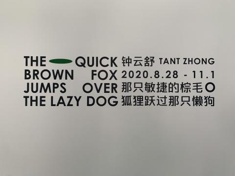 从A到Z  钟云舒在Tabula Rasa画廊用26个字母遣词造句