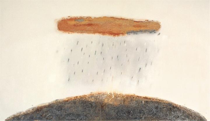 陈淑霞《花洒》210×360cm布面油画 2011