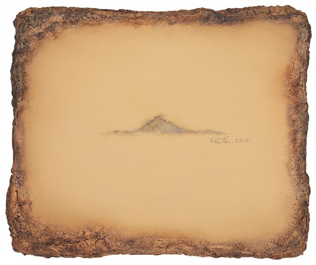 陈淑霞《视窗》28×33cm布面油画 2014