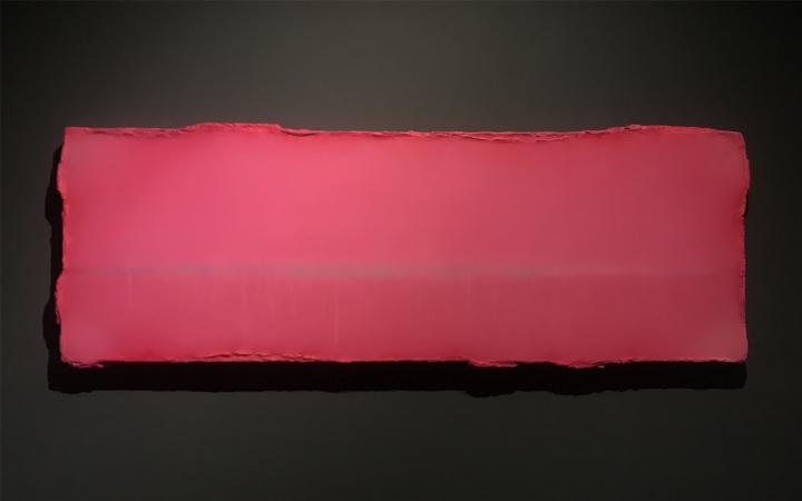 陈淑霞《灿》73×204cm布面油画 2020