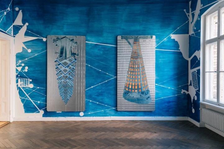 """户尔空间柏林空间,越南艺术家托马斯吴(Tomas Vu)个展""""Space Oddity 69/19/45"""