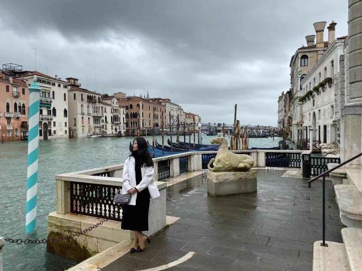 花笑婵在威尼斯