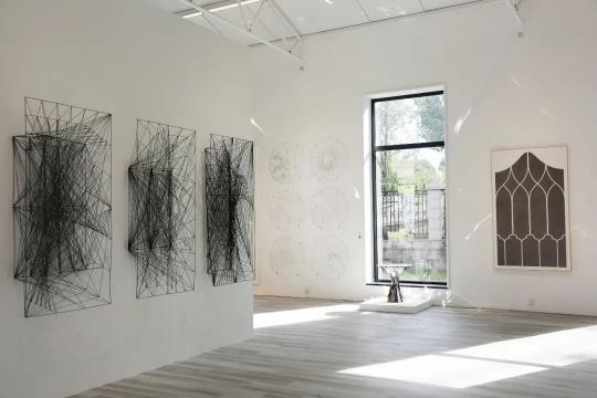"""当世界只剩下点线面,松东艺术区群展呈现""""有一种形式"""""""