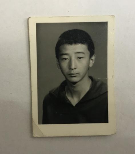 少年时代的唐志冈