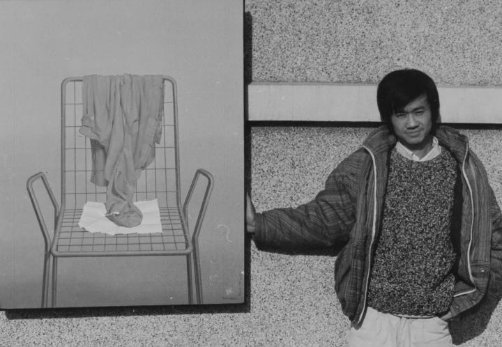 年轻时的陈文骥 图片提供:刘庆和、陈淑霞