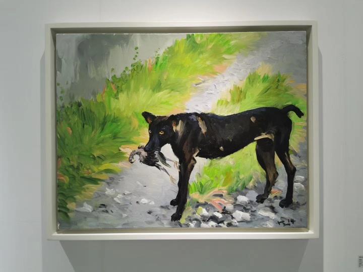 刘小东作品《青春期之一》为東京画廊 +BTAP展位最贵,130万元以上。