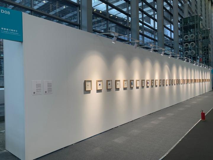魔金石在公共艺术项目带来的李景湖的《陪伴》。