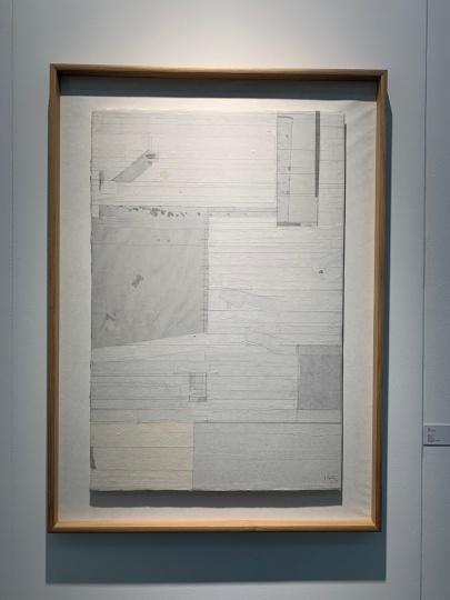逸空间所带最贵作品为梁铨的《无题》,10万元以内。