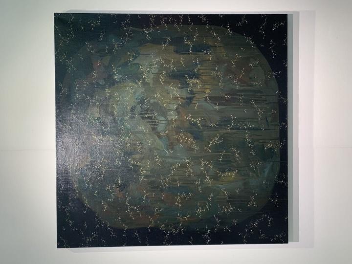 深圳艺术家林山作品,3万元左右。