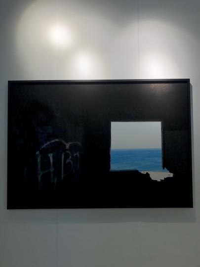 现场售出两件乔瓦尼·欧祖拉(Giovanni Ozzola)的摄影作品,单价都为2万欧元。