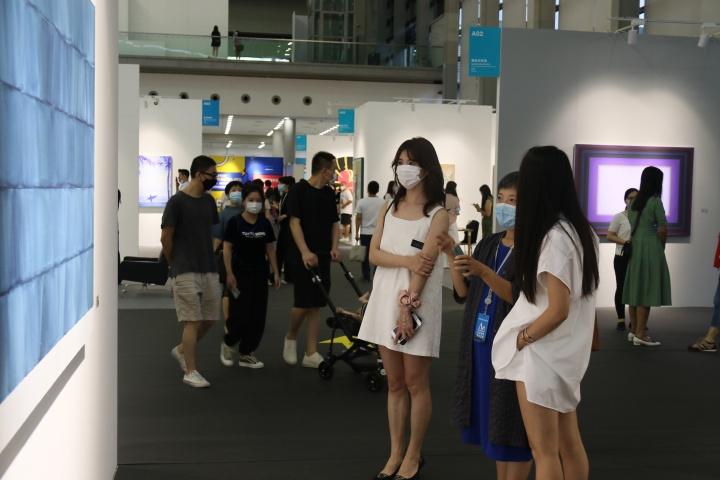 2020艺术深圳艺博会现场