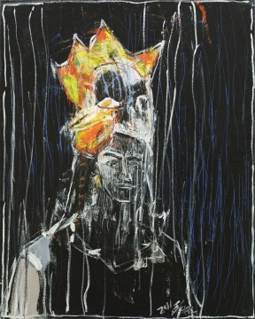 刘锋植 《无题》 100×80cm 布面油画 2011
