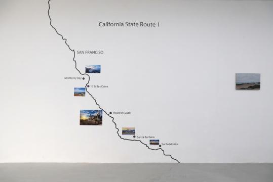 """现在画廊""""纳喀索斯之颜""""  这是薛若哲的加州"""