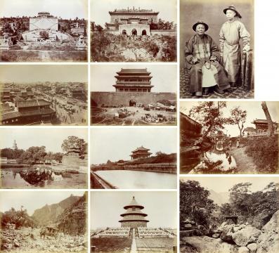 大卫·诺克斯·格里菲斯《影像中的中国相册(4册,94张)》最大:86×20cm、最小:23.5×21cm 蛋白照片 1870s RMB:600,000-800,000