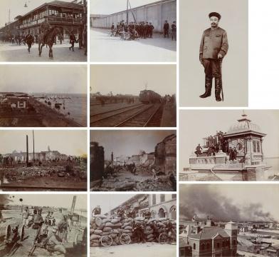 丁乐梅等 《辛亥革命相册》(80张) 14×10cm 火棉胶相纸印相 1900-1910sRMB:90,000-150,000