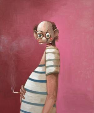 乔治·康多 《抽烟的水手》 127.4 x 106.7cm 油画 画布 2017  港元 4,800,000 – 6,800,000