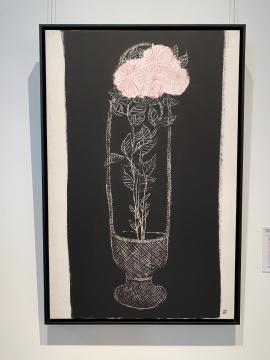 常玉 《篮中粉红菊》 92x60cm 油彩 画布1931 港元 68,000,000 – 98,000,000