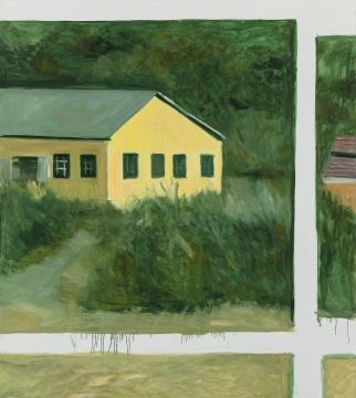 《横道河子写生–2》 160×180cm布面油画2020