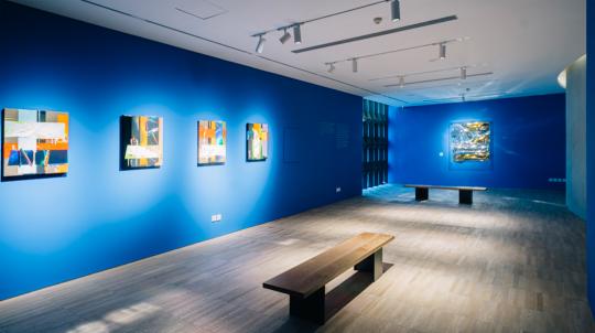 """""""安塞姆·雷尔:当我们谈论永恒时""""展览现场,阿那亚艺术中心"""