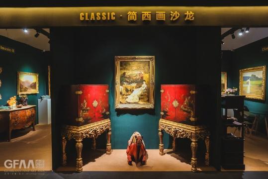 classic 简 西画沙龙 呈现西方古董绘画的风采