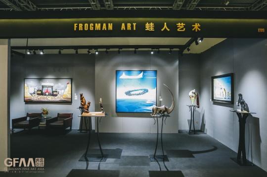 蛙人艺术通过《梦想》等作品传递出艺术的独特幽默