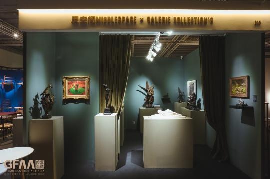 反空间MiddleSpace x Galerie Collection's带来19世纪-20世纪的西方艺术品