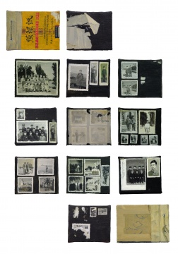 仇晓飞 《照相纸》 18.5×13.5cm×19,21.5×13.5cm×2 (一组21张)布面油画 2003