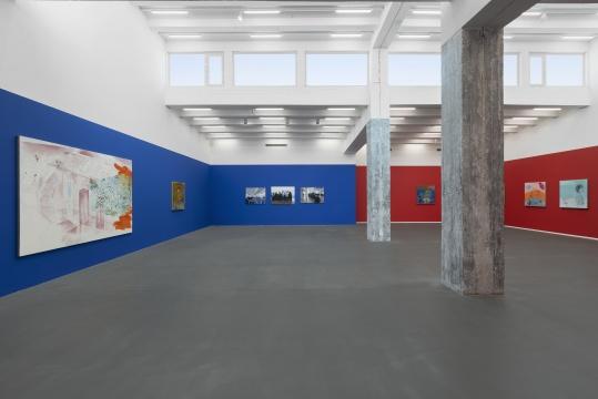 麦勒画廊谢南星个展开幕:骰子滚滚,滚入红尘