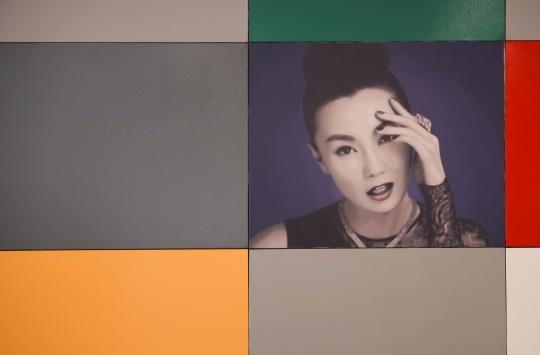 颜磊《有限艺术项目》125幅 105×130cm 布面油画 2012 细节