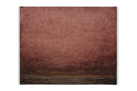 Untitled (from the Deserto-Modelo series)24.3 × 30 cmóleo sobre tela、oil on canvas2017
