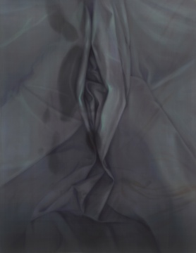 《宴(二)》56×121cm 绢本设色 2020