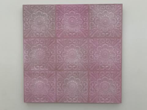 杨光南 《路.C》118×118×3cm 树脂、油性颜料、木、铁 2020