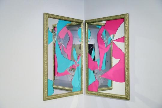 米开朗基罗·皮斯托莱托Michelangelo Pistoletto《彩色二减一》作品归属:常青画廊